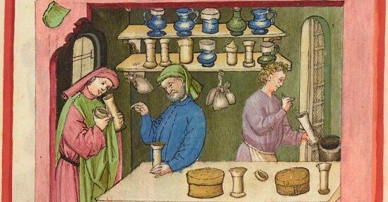 thériaque médecine médiévale
